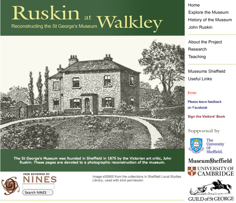 Ruskin at Walkley