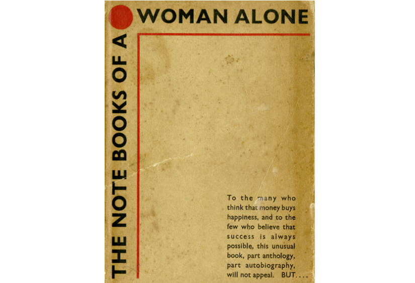 Note Books of a Woman Alone