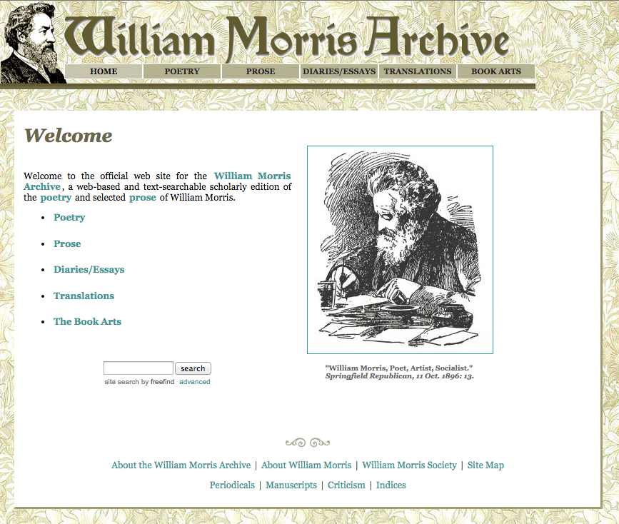William Morris Archive